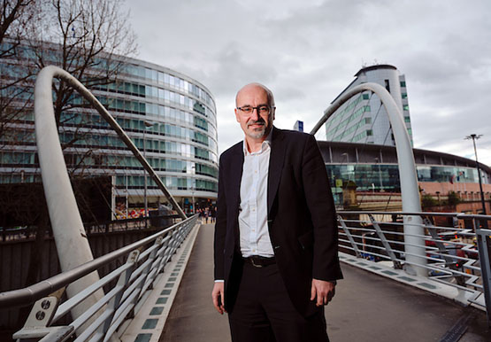 Manchester's Health and Social Care Partnership chief officer Jon Rouse