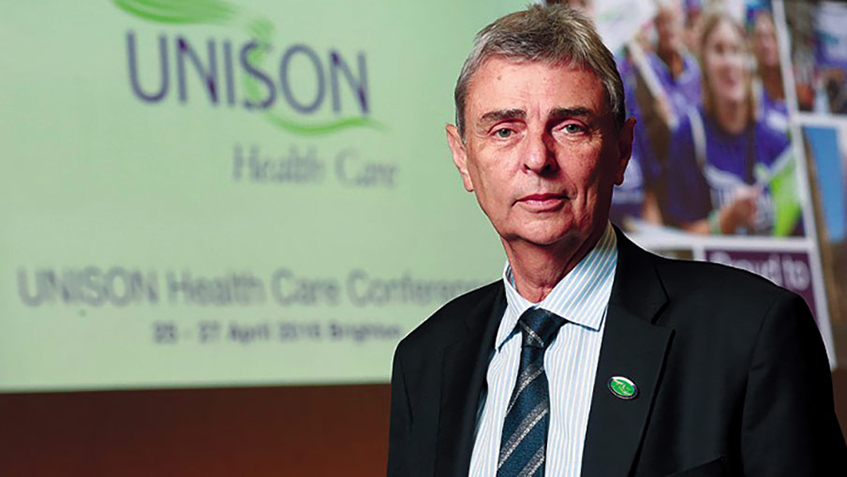 Dave Prentis: Employers who fail to consult staff about working conditions will be taken to court.