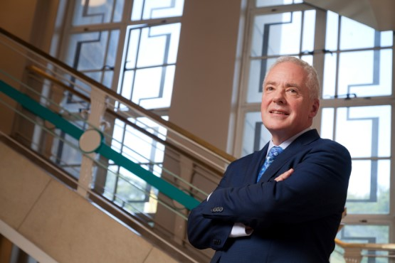 Chief executive of NHS Scotland Malcolm Wright