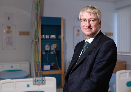 Liverpool University Hospitals Foundation Trust chief executive Simon Warburton
