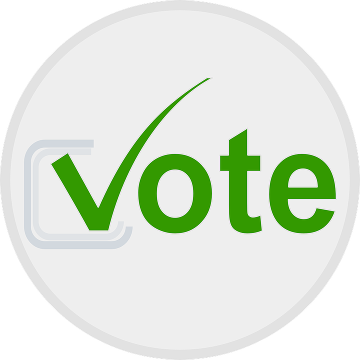 Green vote logo
