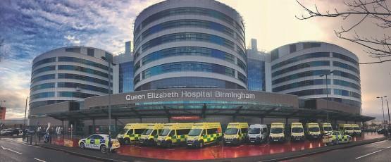 QE II Hospital, Birmingham