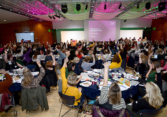Women's TUC Conference in London on 6-8 March 2019