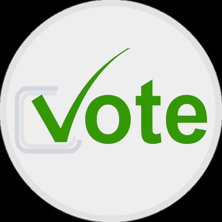 Green vote logo