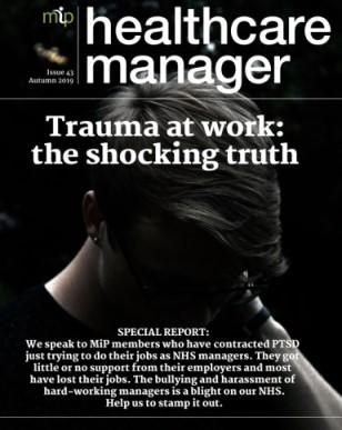 Cover of HCM magazine