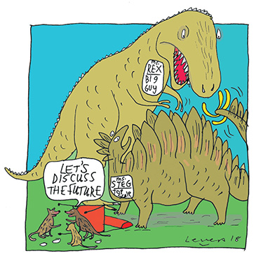 The Sharp End Cartoon