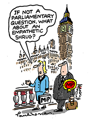 Tipster - How to talk to MPs about your work