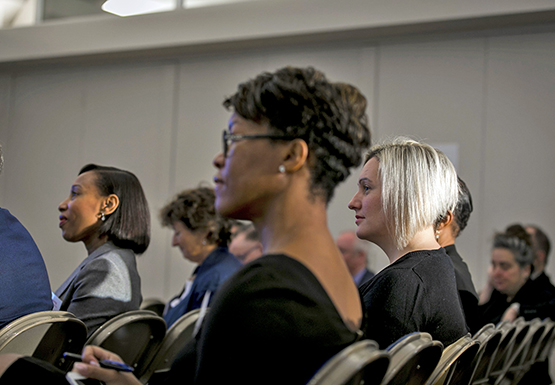 Women of different ethnicities attending a BME conference
