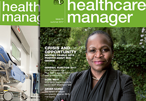 Previous covers of Healthcare Manager
